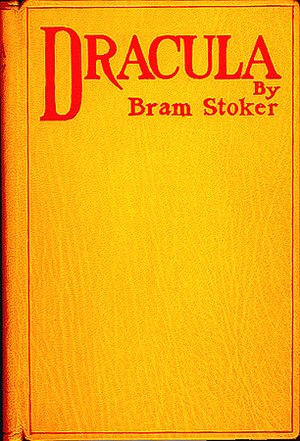 Book cover of Dracula