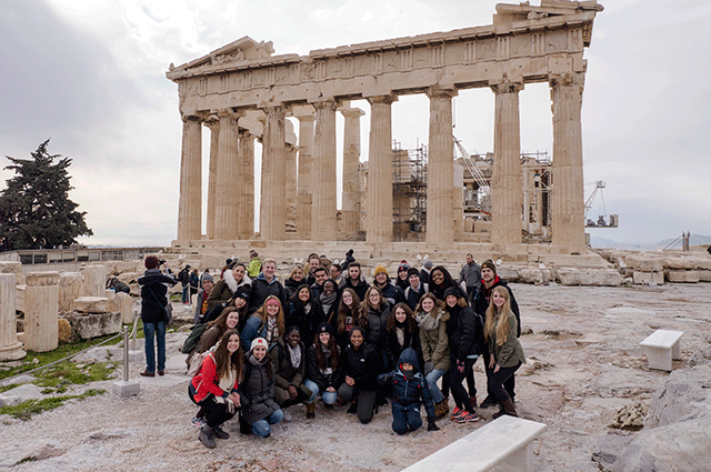 Winter Study Abroad Course in Greece
